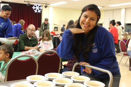 Soup for the Crafts Night participants