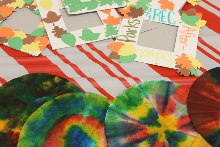 Art projects from the participants of the REC Vacation Days: Fall Break Program