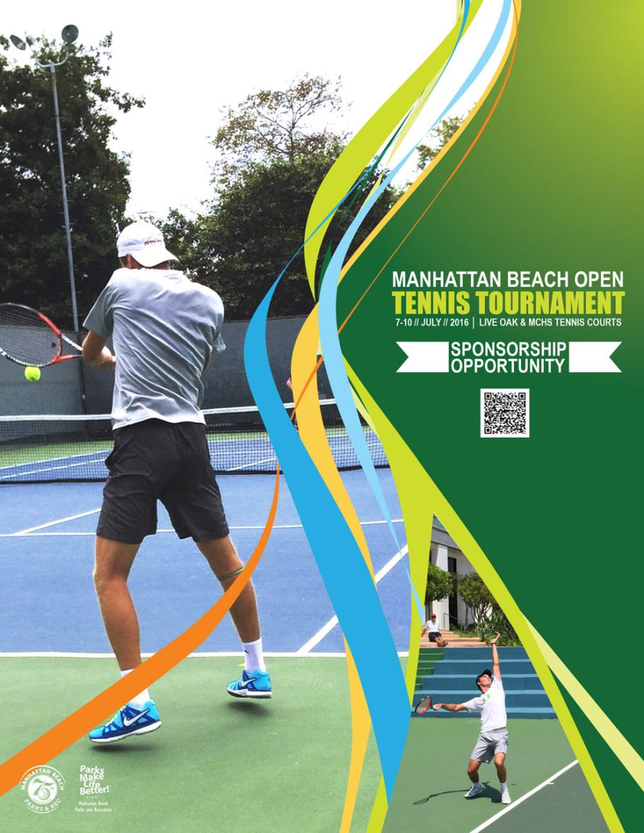 MBO Tennis Tournament Sponsorship Packet Cover