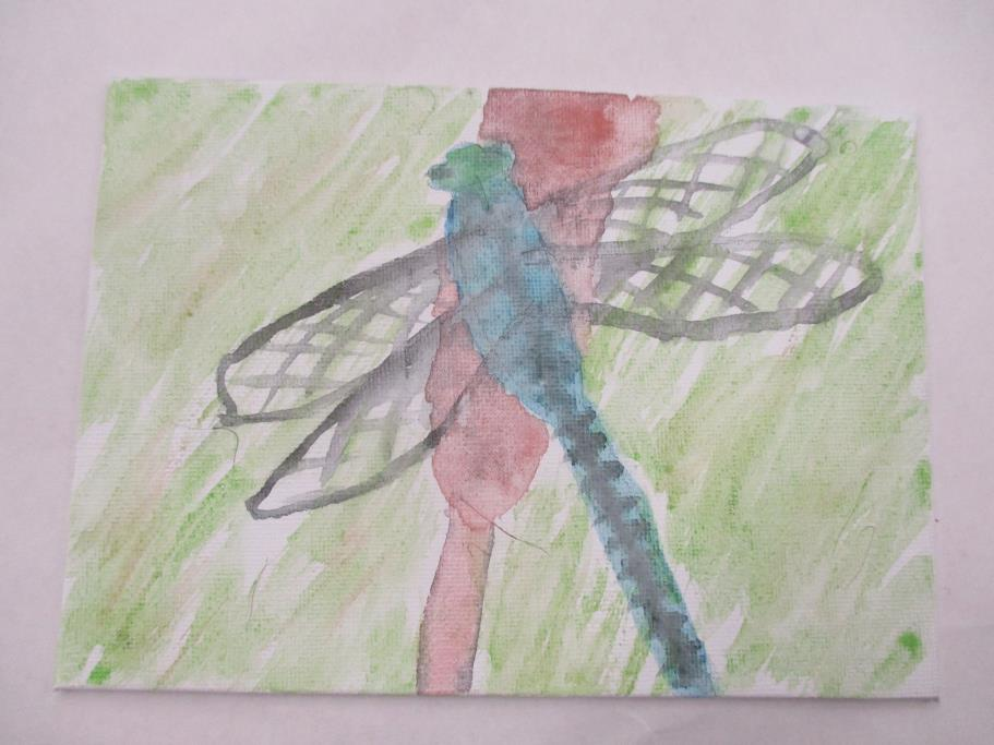 April 16, 2016 Art As Experience Insect Painting
