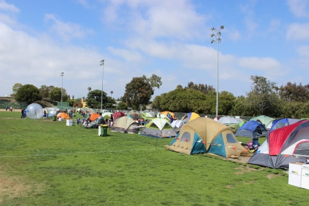 Tents on tents on tents!