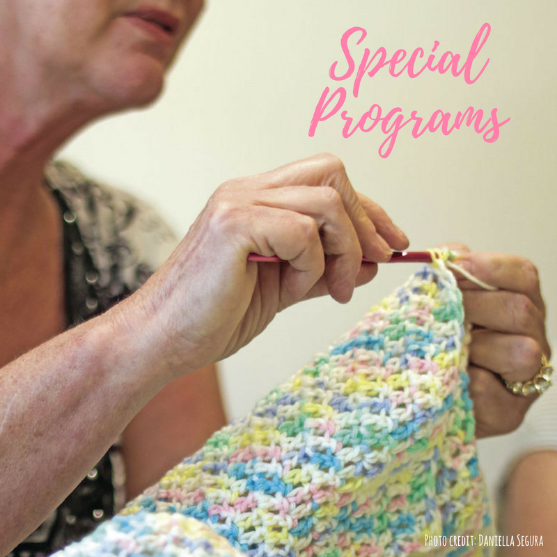 Older Adults Program Special Programs Button