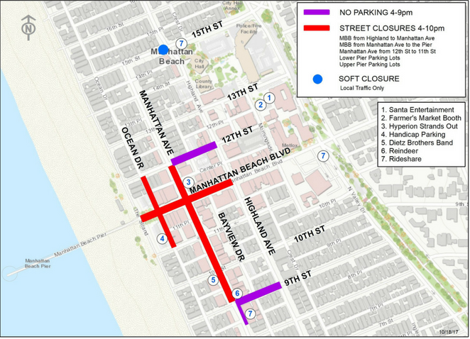 Street Closures - Pier Lighting