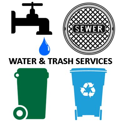 WATER & TRASH SERVICES