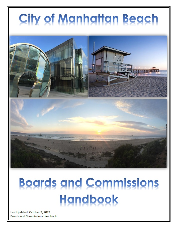 Boards and Commission Cover Page