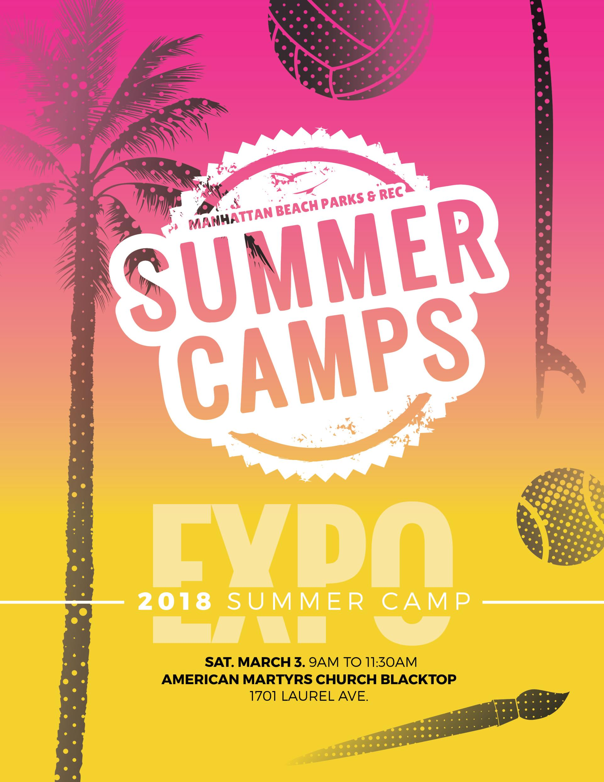 Summer Camp Expo Flyer