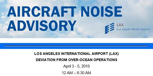 LAX overnight deviation