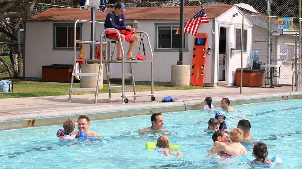 4th of July Pool Party at Begg Pool