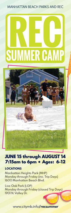 REC Summer Camp Brochure Cover
