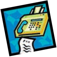 Fax-in Registration Icon