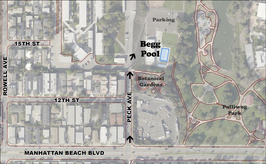 Begg Pool Map