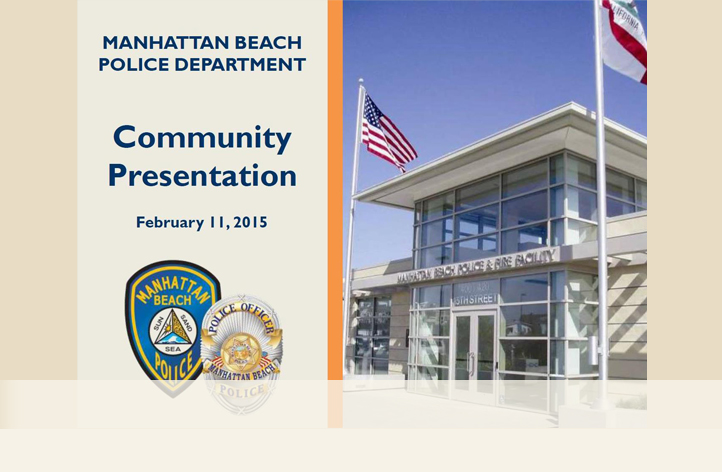 February 11, 2015 Crime Update Community Meeting Presentation