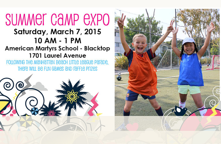 March 7th, 2015 Summer Camp Expo at American Martyrs School