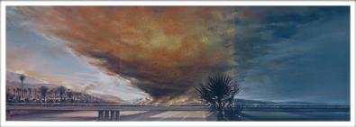 Landscape Series (1986 to 2005): Ventura County 2004 Pastel on Paper