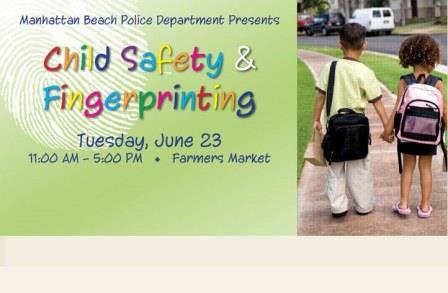 June 23rd,15 Child Safety & Fingerprinting Event
