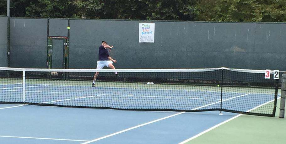 Matches at Live Oak Park Tennis Courts