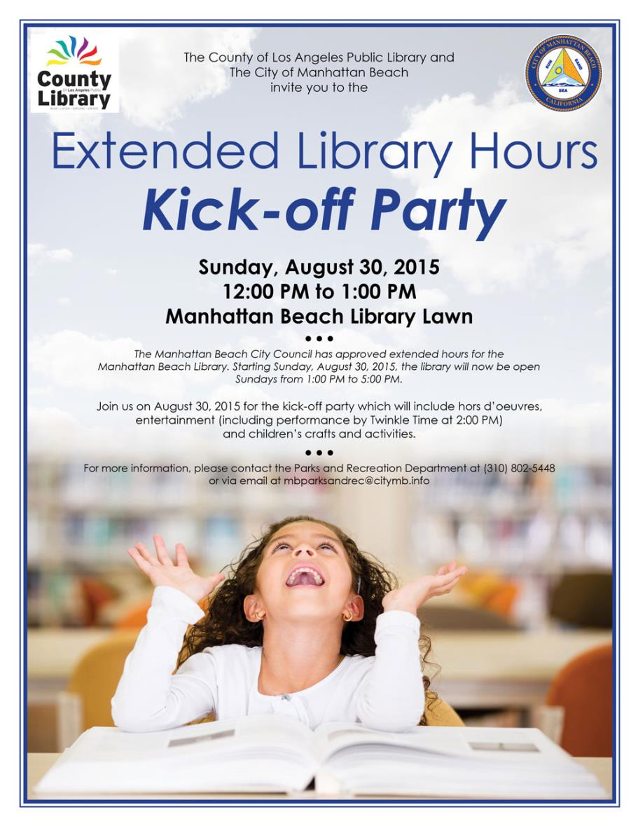 Library Extended Hours