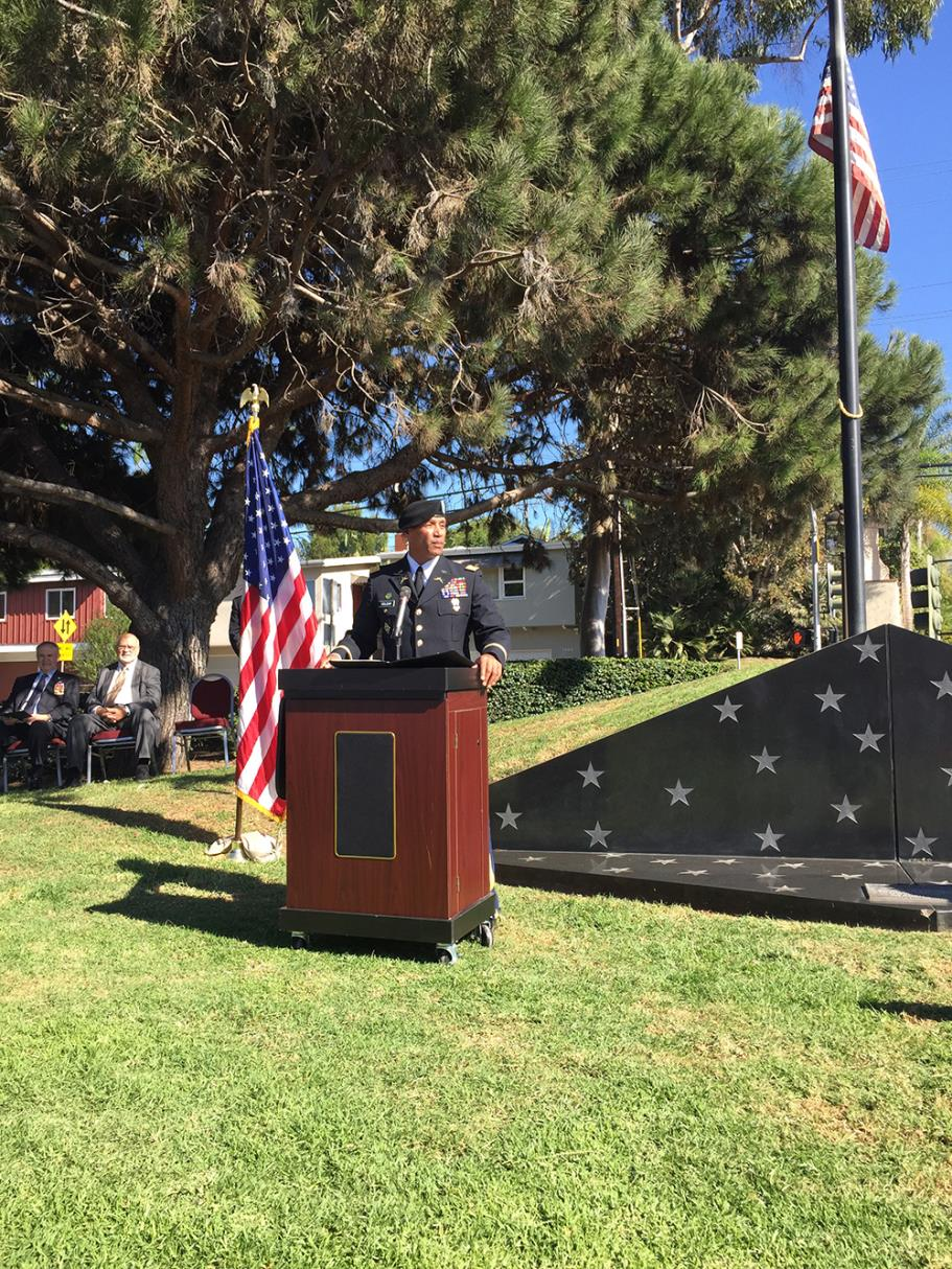 Veterans Day Address by LTC Gilbert Roldan, CDR 578th Brigade Engineer Battalion, US Army National Guard