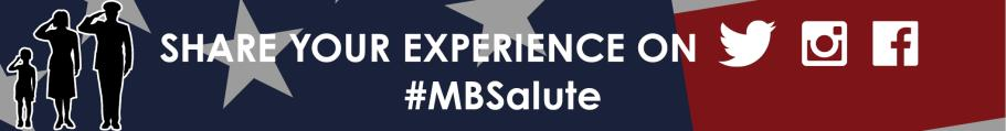 MB Salute to the Troops Share Your Experience