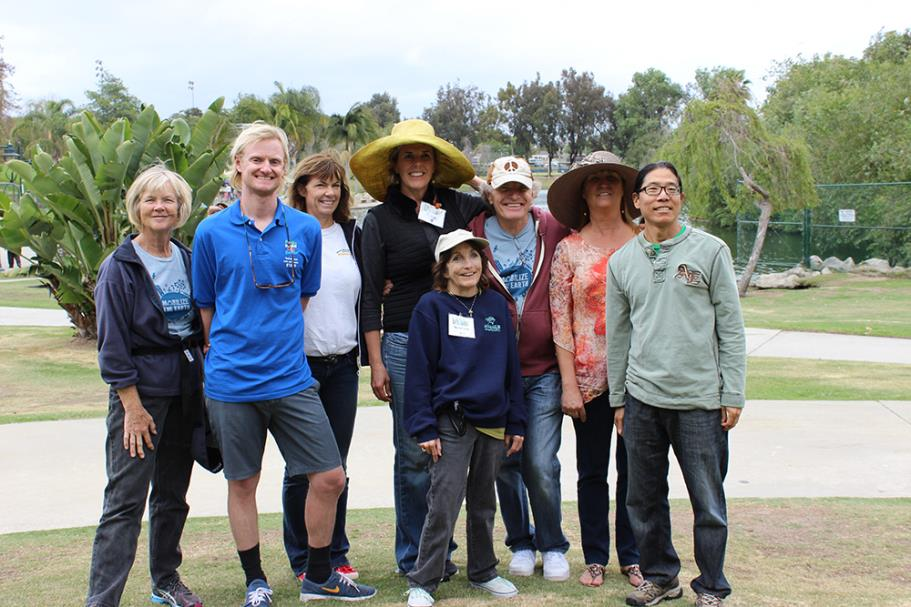 Recreation Supervisor, Andrew Berg and VOICE Committee Members