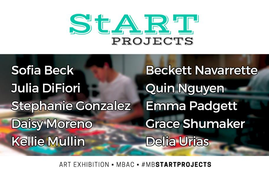 StART Projects Postcard