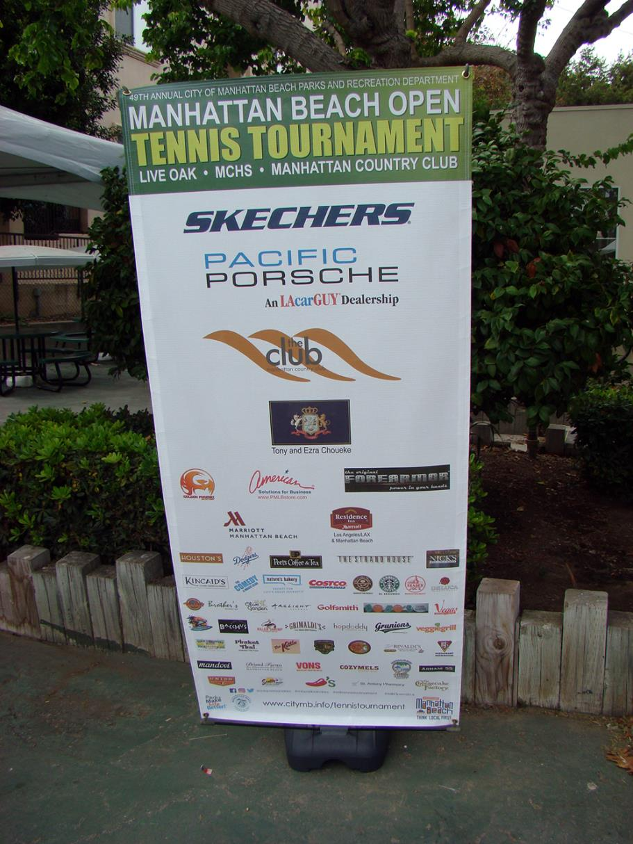 Thank you to our 2016 Manhattan Beach Open Tennis Tournament sponsors
