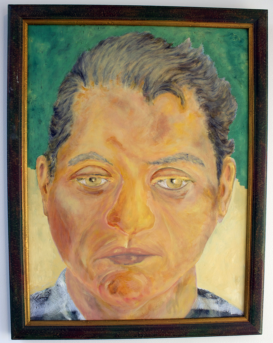 Selfie, Painting, Oil by Jim Ruderman