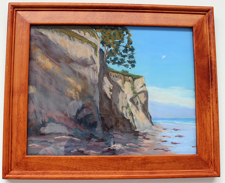 Santa Barbara Coast, Painting, Pastel by Robert Doll