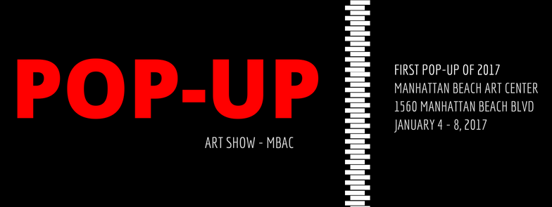 Pop-Up Art Show Banner 1