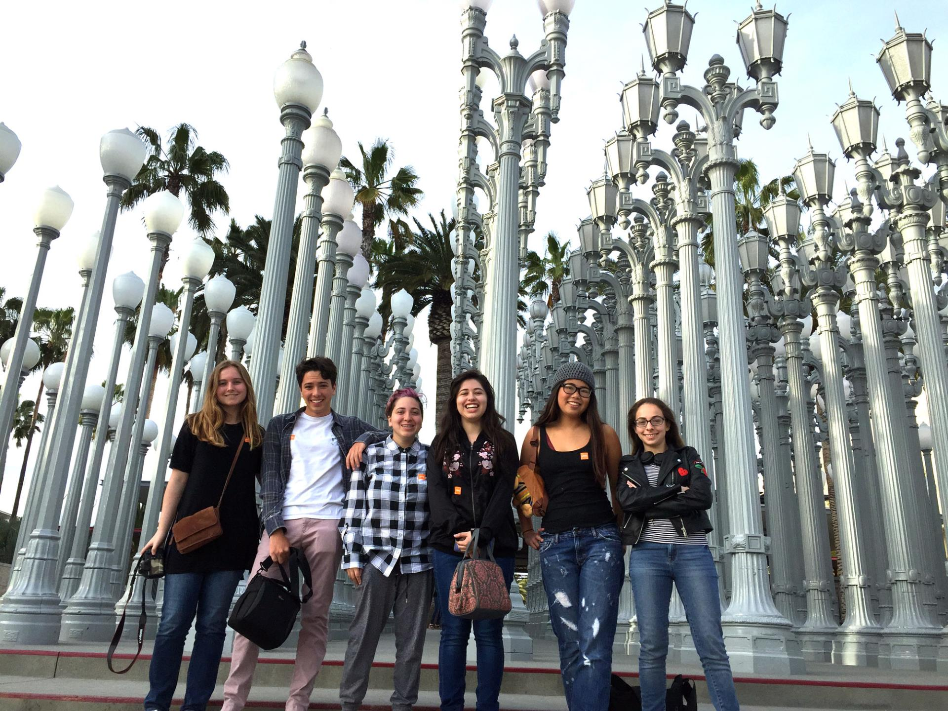 Field trip to LACMA (Los Angeles County Museum of Art)