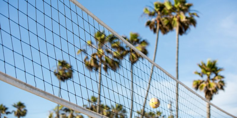 Beach Volleyball Header