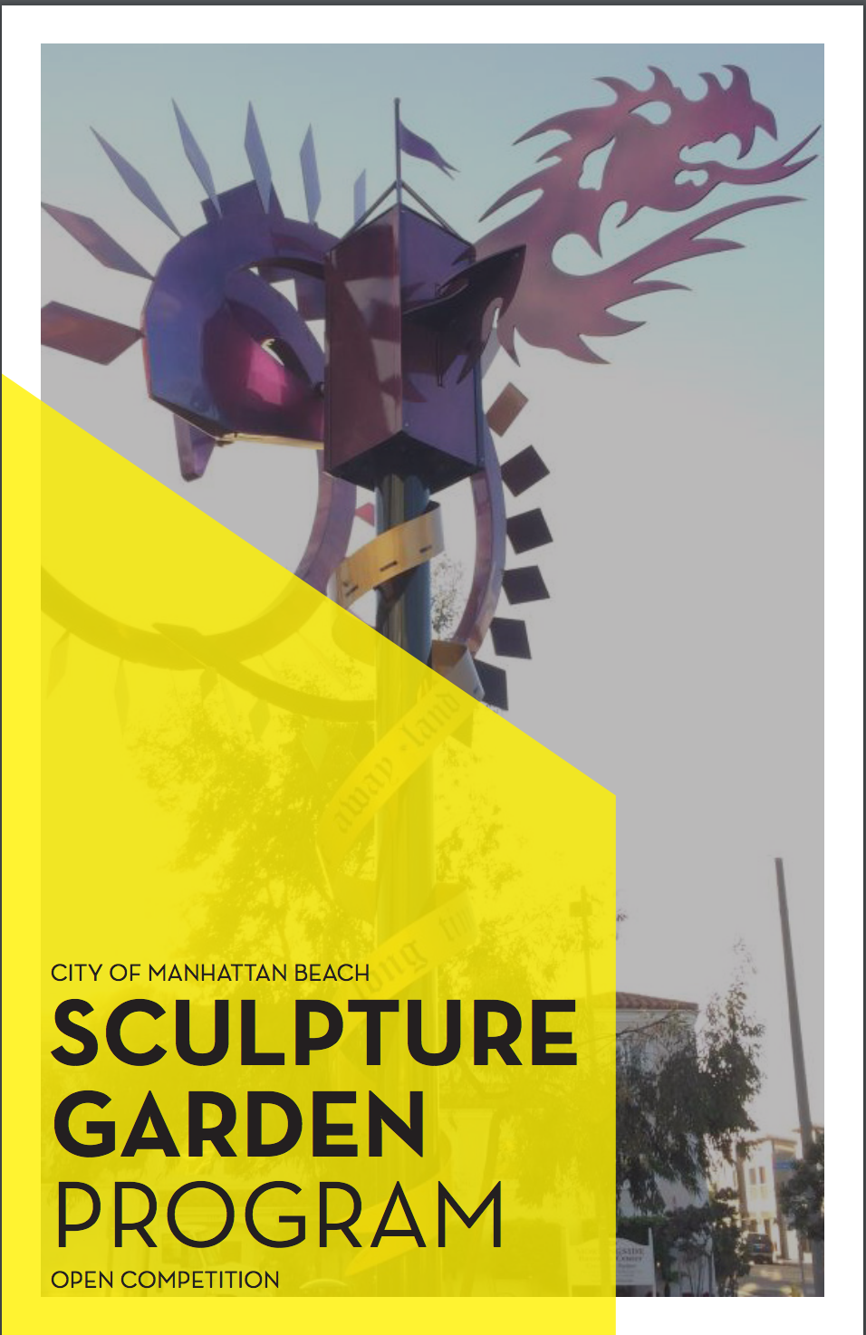 2018 Sculpture Garden Call to Artists
