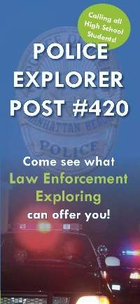 Calling all High School Students!  Come see what law enforcement exploring can offer you!