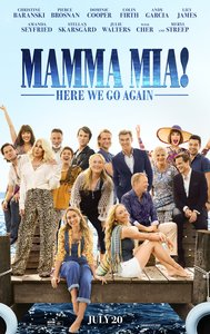 Mama Mia Here We Go Again Movie Poster