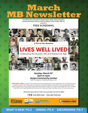 MB Senior News Cover - March 2019