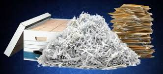 Shredded paper image