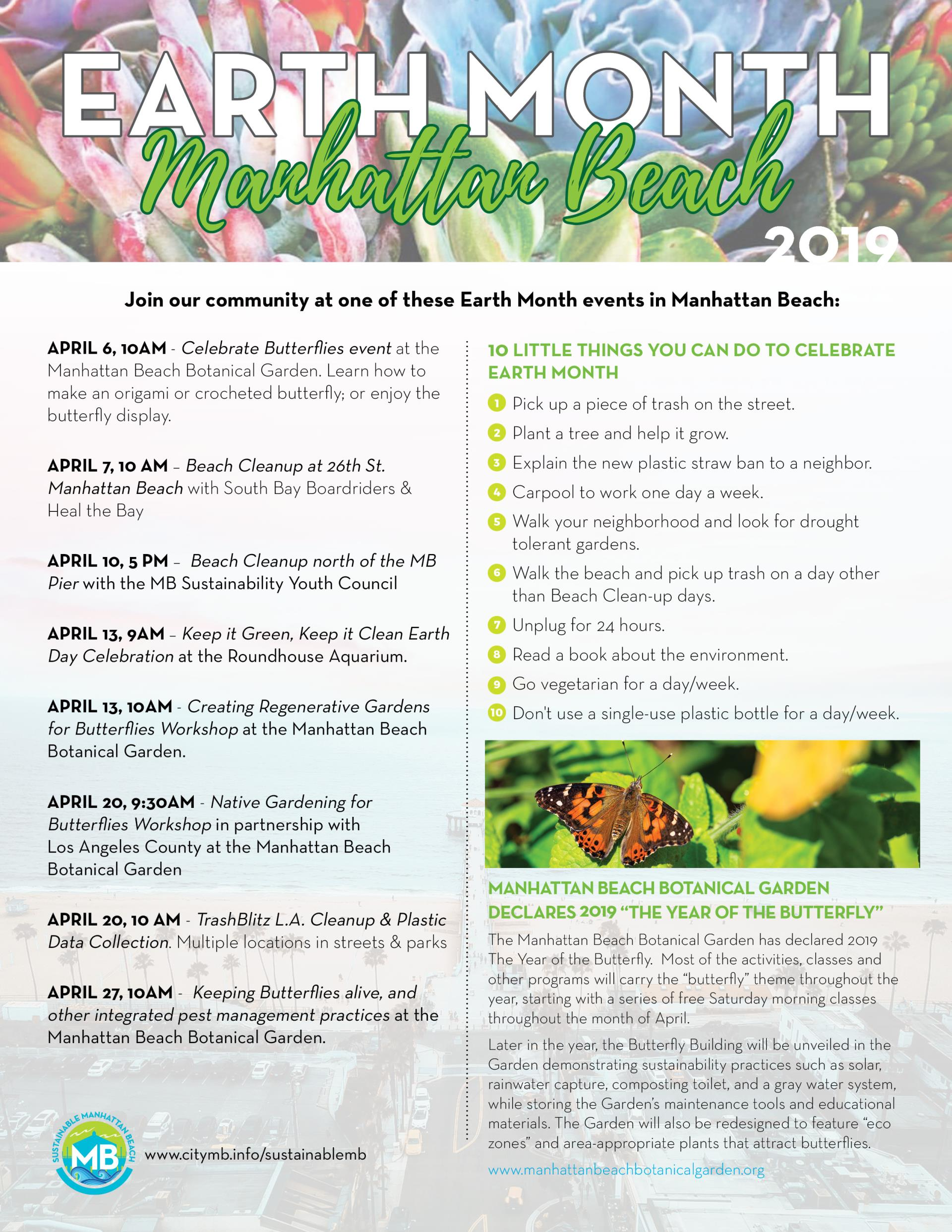 Earth Month in MB 2019