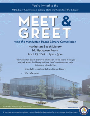 Meet and Greet with Library Commission