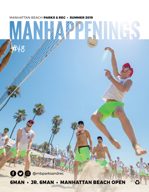 Summer 2019 MANHAPPENINGS Cover