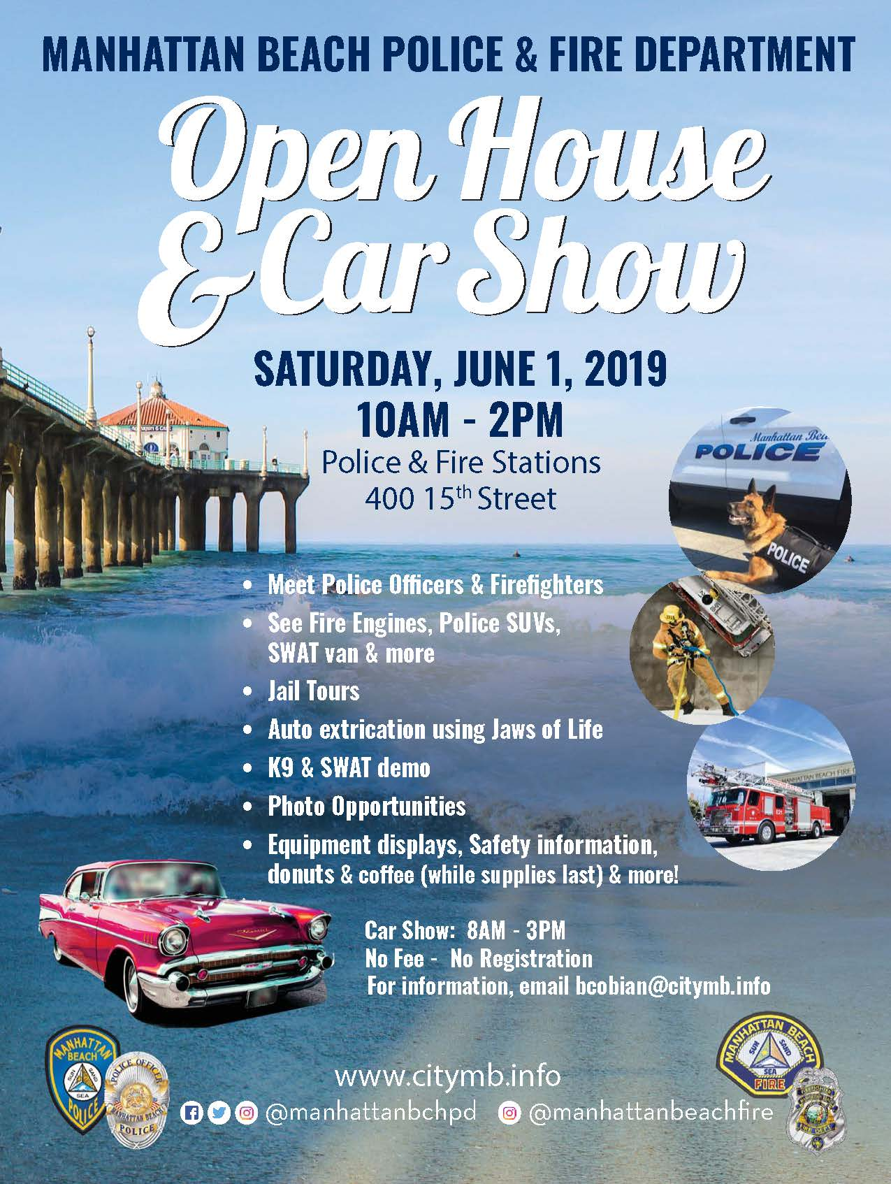 Open House Car Show Flyer 2019