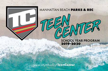 2019 - 2020 Teen Center School Year Brochure Cover