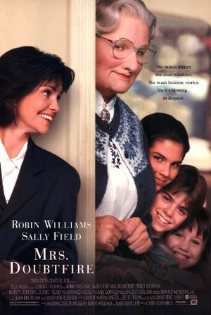 Mrs Doubtfire movie poster