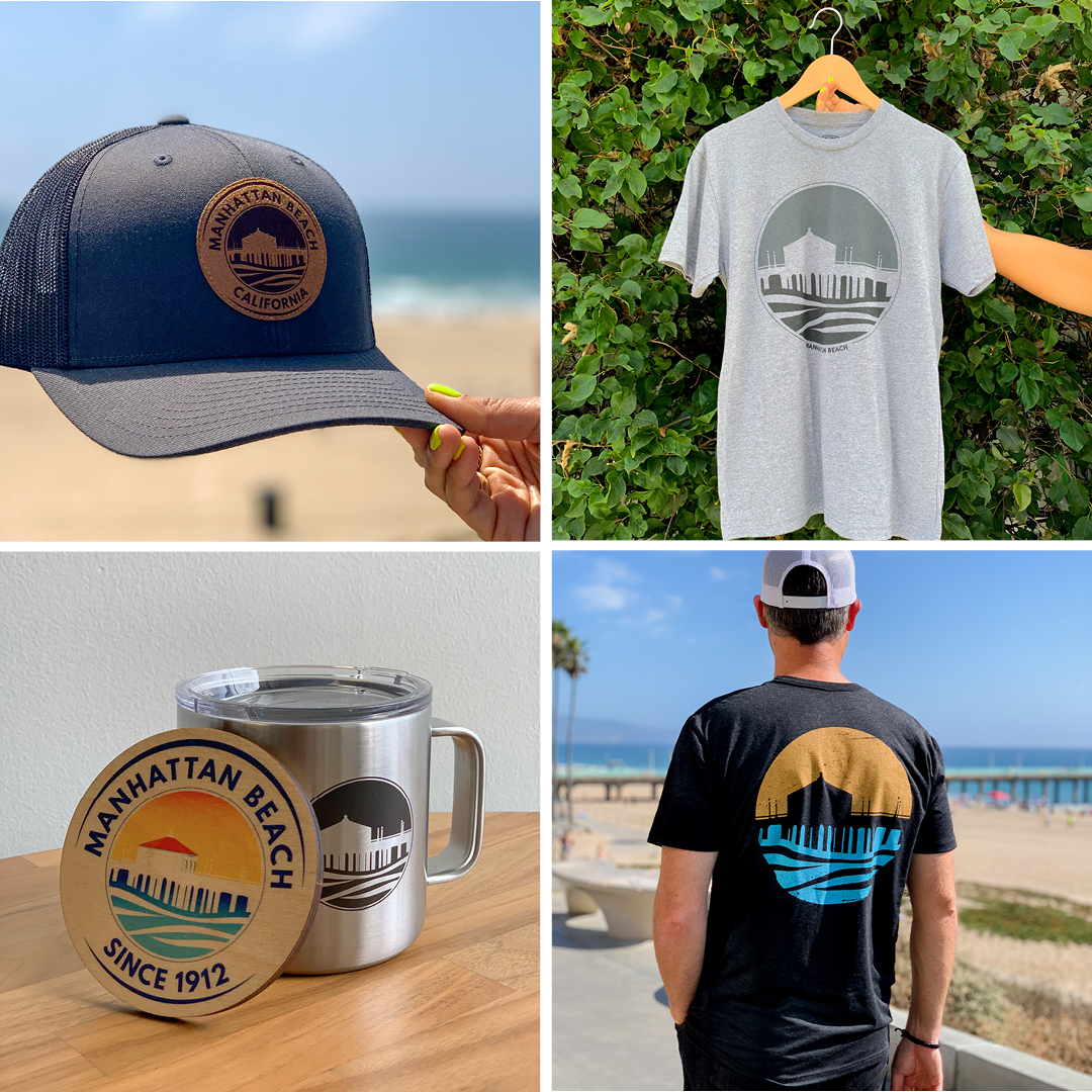 BRANDED Manhattan Beach Product Shots