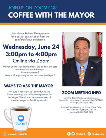 Coffee with the Mayor June 24