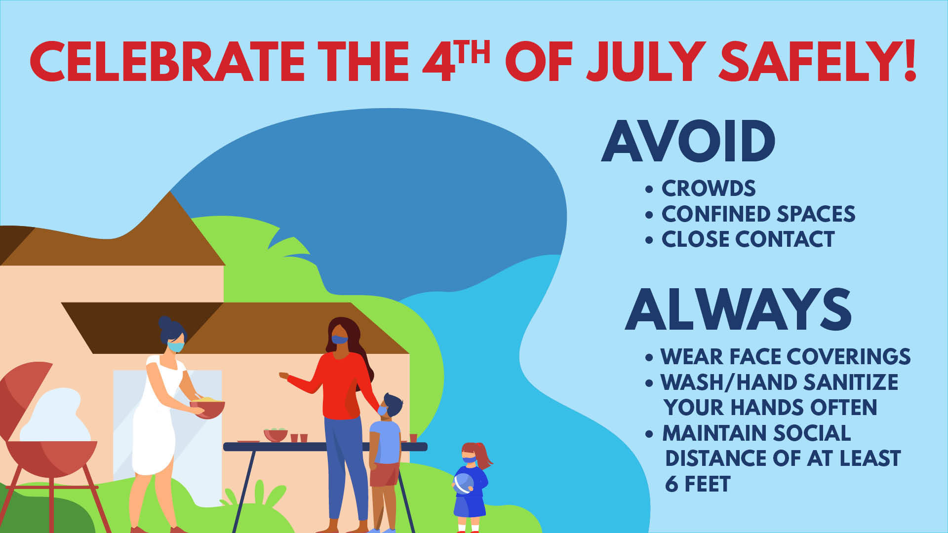 Celebrate the 4th of July Safely