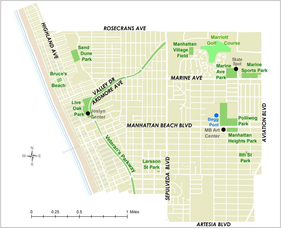 Facilities map