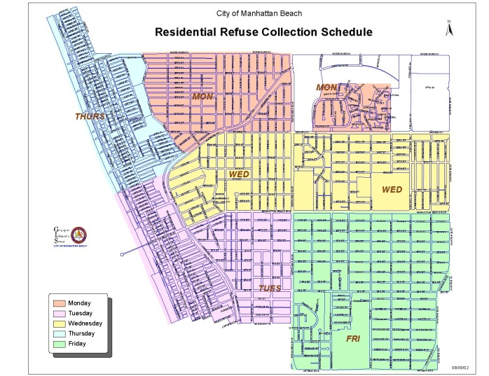 Residential Refuse Collection Map