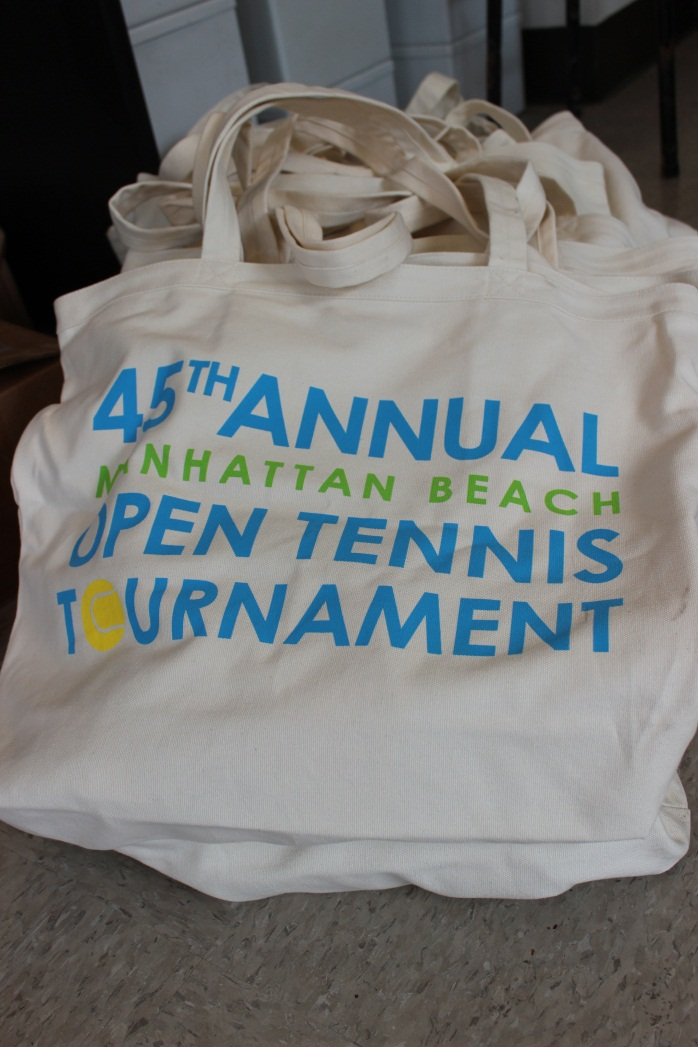 Goody bag for tournament participants