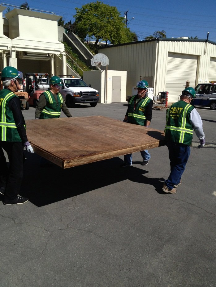 Cert Plywood boarding