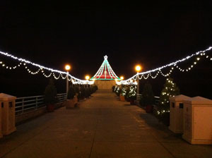 20th holiday open house and 25th annual pier lighting older adults